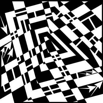 Static Formations Maze  by Yonatan Frimer Maze Artist