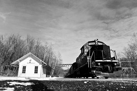 Station Road Depot by Jeff Picoult