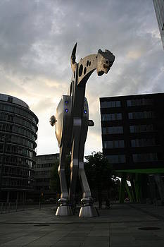 Statue Horse In Germany by Laurie Cournia