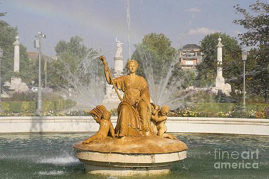 Statue In Aranjuez by Stefano Piccini