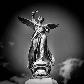 Statue of an Angel by Karen Lindale