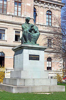 Statue of Bishop Strossmayer by Borislav Marinic
