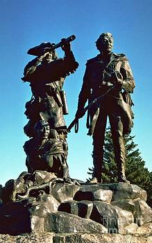 Statue of Lewis Clark Sacagawea by Larry Stolle