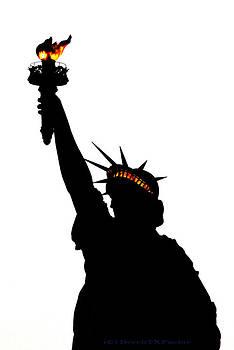Statue of Libery-Silhouette by DerekTXFactor Creative