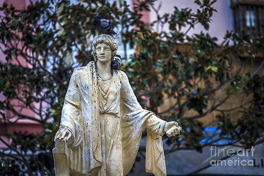 Statue of Lucius Junius Moderatus Columella Cadiz Spain by Pablo Avanzini