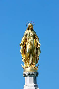 Statue of the Blessed Virgin Mary by Borislav Marinic
