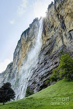Oscar Gutierrez - Staubbach Falls in the Lauterbrunnen Valley Switzerland
