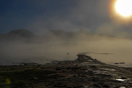 Stave lake sunrise by Randy Giesbrecht