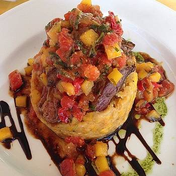 Steak Mofongo - My New Favorite by Khamid B