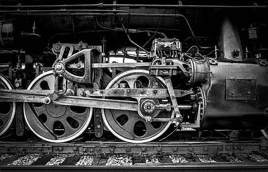 Steam Engine by Jeff Burton