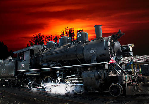 Randall Branham - steam Engine Train