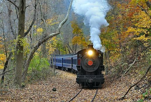 Steam in the Autumn by Evan Schilling