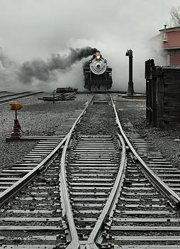 Steam in the mist by Evan Schilling