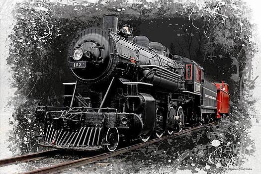 Barbara McMahon - Steam Locomotive 103