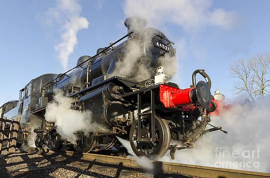 Steam locomotive 46521 by Steev Stamford