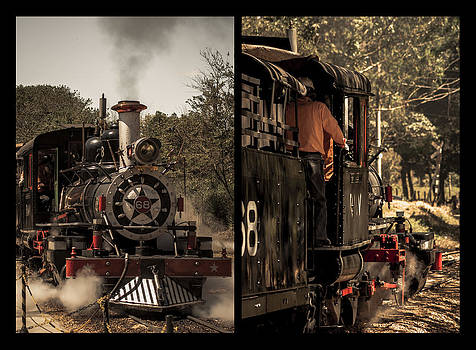 Steam Locomotive by Floyd Raymer