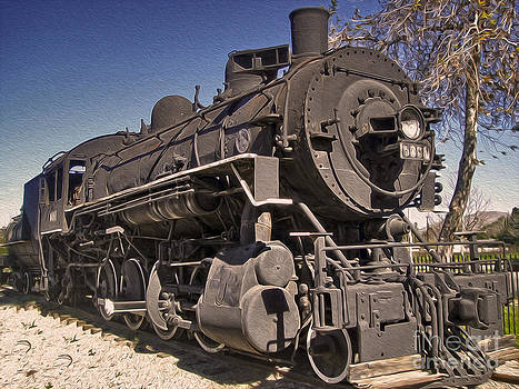 Gregory Dyer - Steam Locomotive