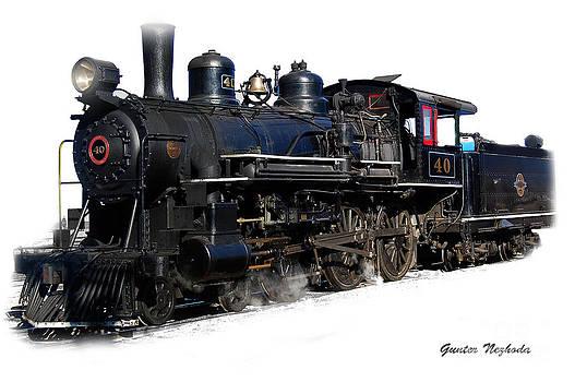 Gunter Nezhoda - steam locomotive