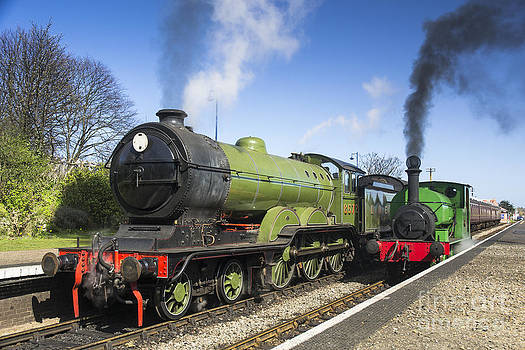 Simon Pocklington - B12 and Wissington Tank Steam Locos