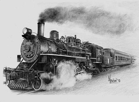Steam Train by Dave Lawson