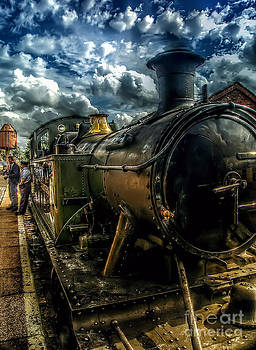 Steam Train by J A Evans