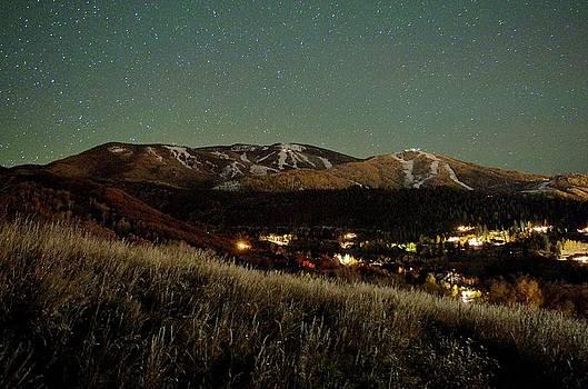 Steamboat Night Landscape by Matt Helm