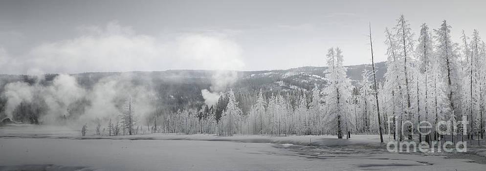 Winter Landscape- Steaming Cold by Feryal Faye Berber