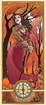 Steampunk Autumn by Dani Kaulakis