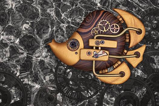 Steampunk Butterflyfish by Stephen Kinsey