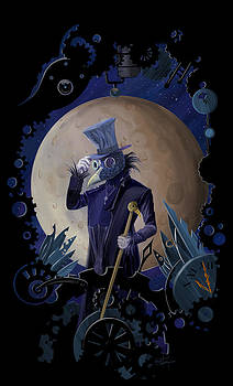 Sassan Filsoof - Steampunk crownman