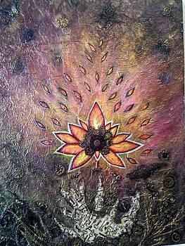 Steampunk Fire Flower by Alina Skye