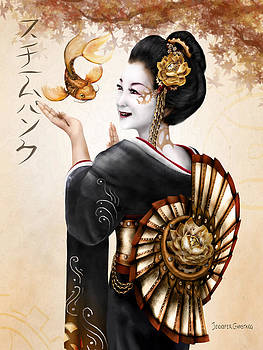 Steampunk Geisha by Jennifer Garstang