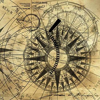 James Christopher Hill - Steampunk Gold Compass