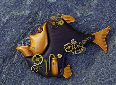 Steampunk Hatchetfish by Stephen Kinsey
