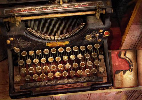 Mike Savad - Steampunk - Just an ordinary typewriter