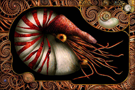 Mike Savad - Steampunk - Nautilus - Coming out of your shell