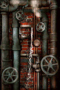 Mike Savad - Steampunk - Plumbing - Pipes and Valves