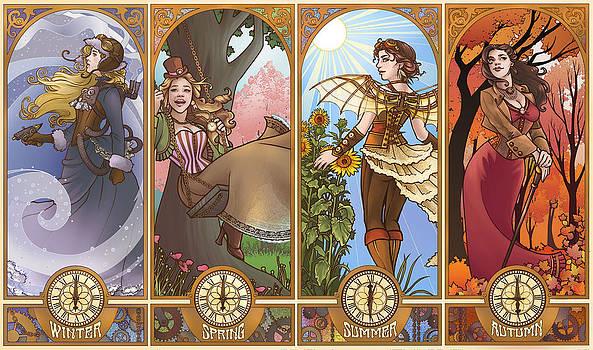 Steampunk Seasons by Dani Kaulakis