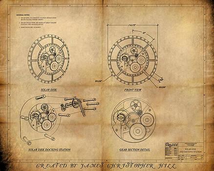 James Christopher Hill - Steampunk Solar Disk