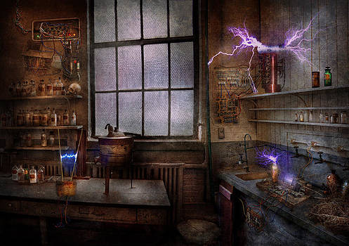Mike Savad - Steampunk - The Mad Scientist