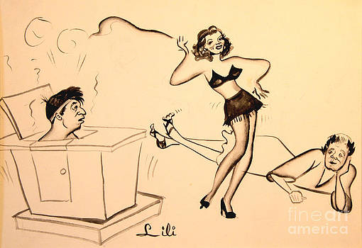 Art By Tolpo Collection - Steamy Dancer - Good Night Ladies  1939