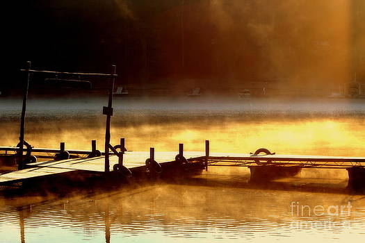 Steamy Dock by Pete Dionne