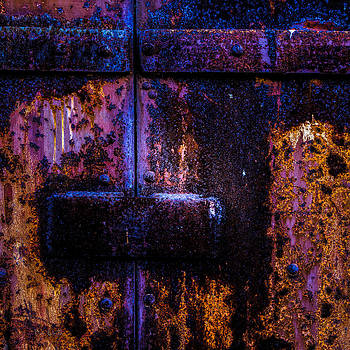 Steel Door Number Three by Bob Orsillo