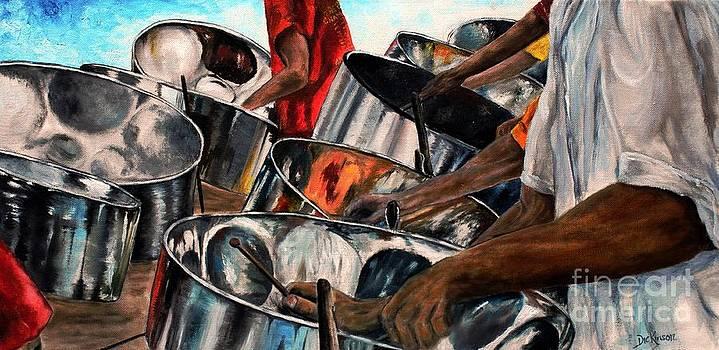 Steelband Music Sweet by Anna-maria Dickinson