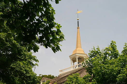 Steeple of the Old Ship Meeting House by Jesse Flaherty