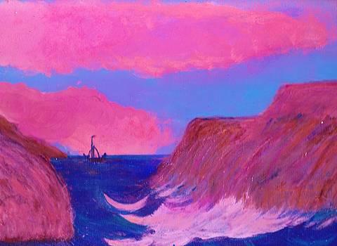 Anne-Elizabeth Whiteway - Steer Clear of the Rocks Little Boat