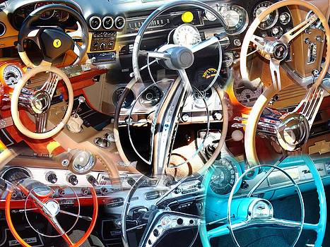 Steering Wheels and Dashboards 2 by Van Ness