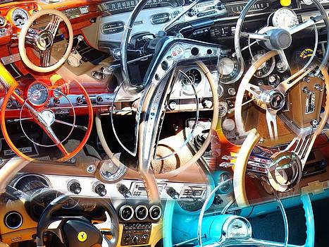 Steering Wheels and Dashboards 3 by Van Ness