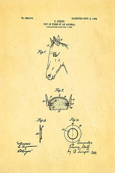 Ian Monk - Steiff Horse Toy Patent Art 1908