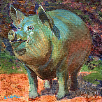 Happy Pig by Erika Nelson